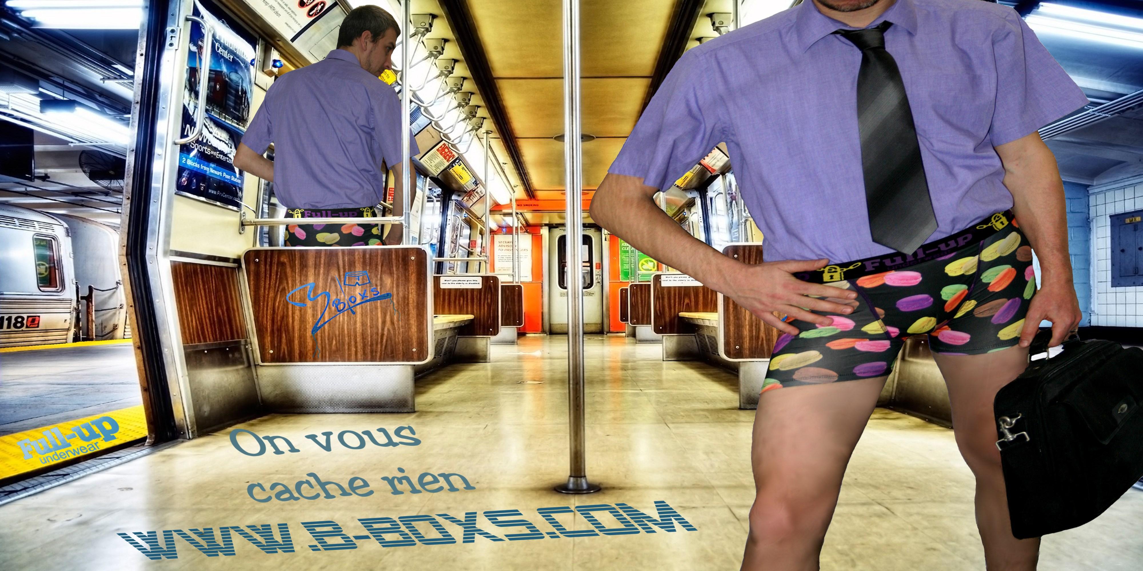 On ne vous cache rien boxer underwear full-up