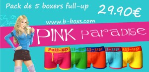 pink paradise b-boxs