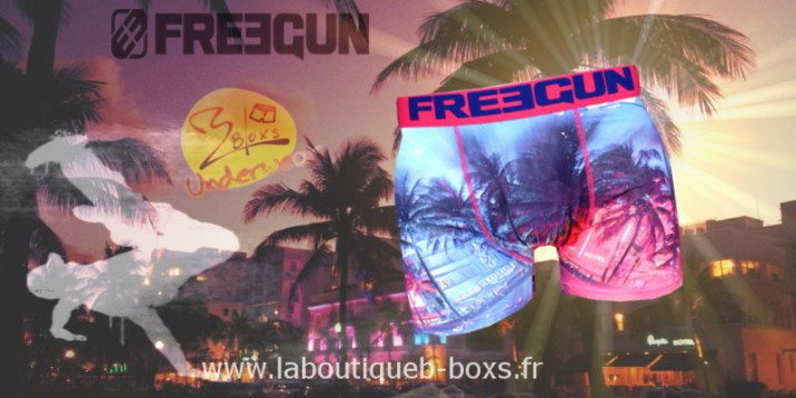 miami night freegun boxer homme chez b-boxs