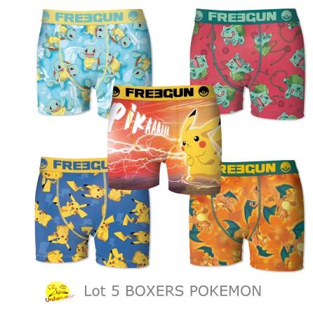boxer-homme-pikachou
