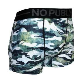 boxer bis no publik camouflage vert