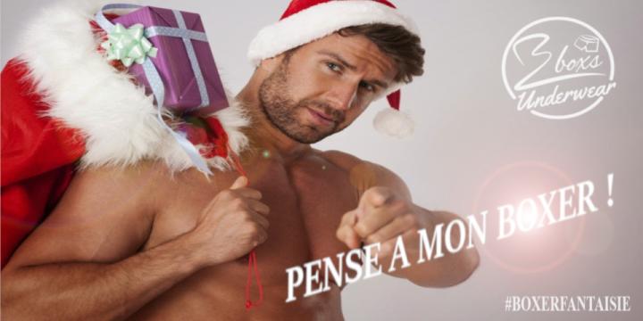 3 idées de cadeau de Noël pour homme en 3 boxers!