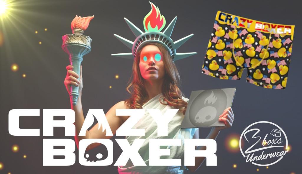 boxer fantaisie crazyboxer